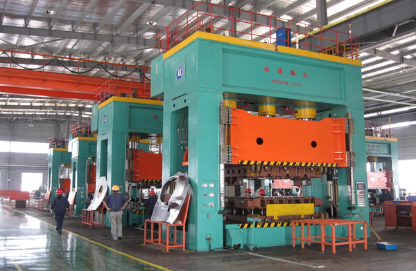 1250 frame hydraulic press production line